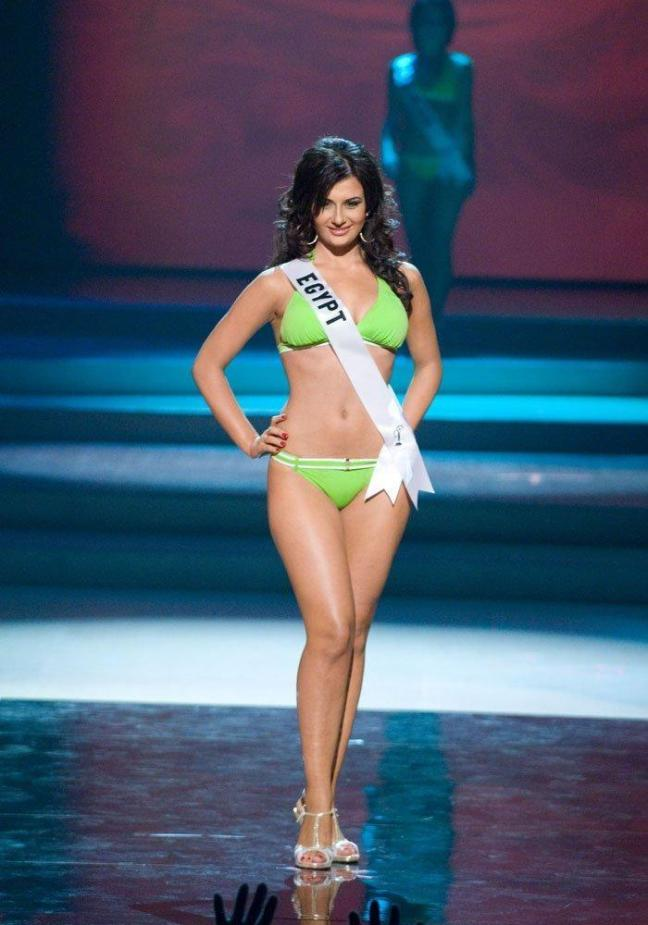 Elham Wagdi Egyptian Beauty Queen and Miss Egypt 2009 most hottest and sexiest stills